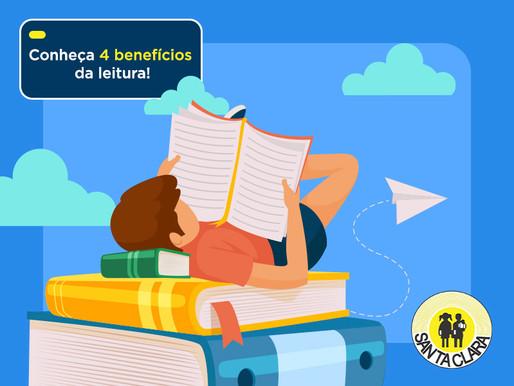 Conheça 4 benefícios da leitura