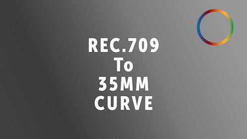 Rec.709 To 35mm Film Print Curve PowerGrade