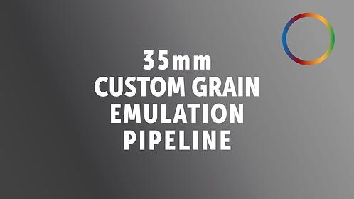 35mm Grain Emulation For R, G & B Channel (based on the Resolve OFX)