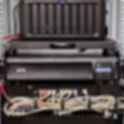 Serverrack with Synology NAS (40TB), USV & Switch