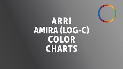 ARRI Amira Log-C Color Charts