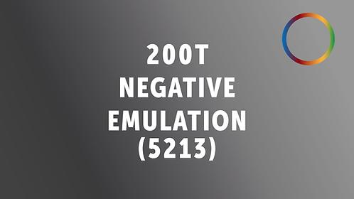 Kodak 200T/5213 Negative Emulation (kind-of)