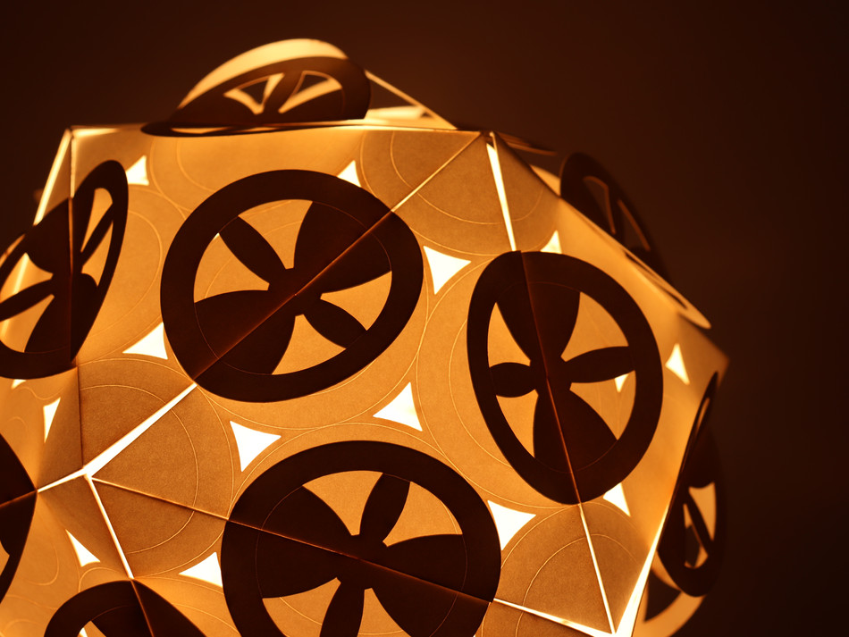 Icosahedron Lights