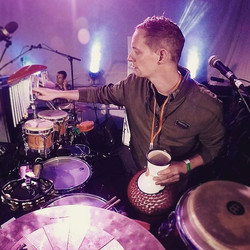 Onstage with _portmsc on #percussion #funk #meinlpercussion #lppercussion #gopro #jazzfest