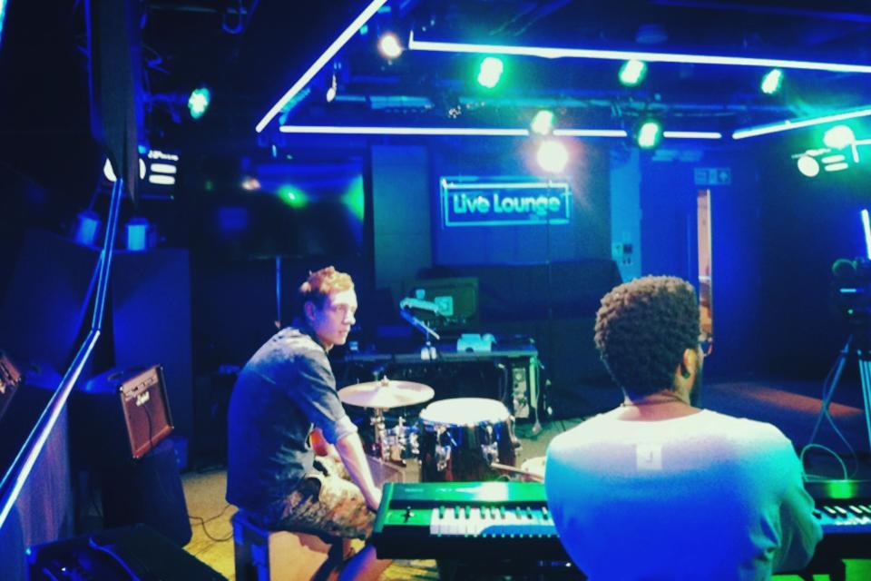 BBC Live Lounge Session.