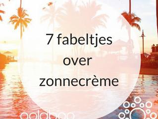 7 fabeltjes over zonnecrème