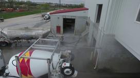 Cement Mixer Truck Wash