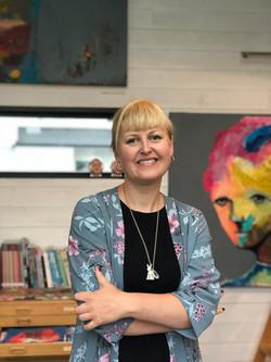 Kari Anne Marstein kunst atelier juni 2018