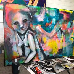 I atelieret - kunst blir til