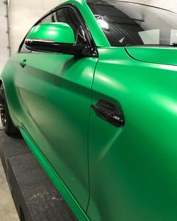 BMW M2 color change wrap