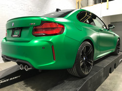 BMW M2 Vehicle wrap