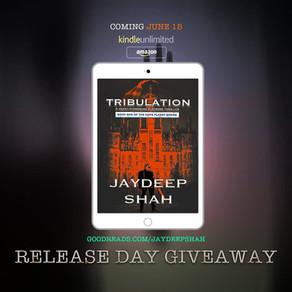 Kindle Book Givaway on Goodreads: Tribulation (Cops Planet #1)