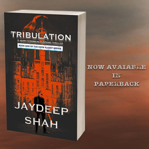 NOW AVAILABLE IN PAPERBACK: Tribulation (Cops Planet #1)