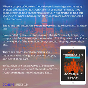 EARLY BLURB REVEAL: Tribulation (Cops Planet #1)