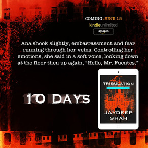 10 DAYS: Tribulation (Cops Planet #1)