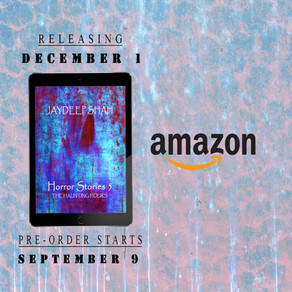 The Haunting Hours (Horror Stories #5) Pre-order Starts on Amazon - September 9