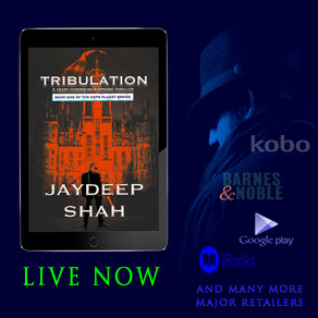 AVAILABLE NOW AT MAJOR RETAILERS: Tribulation (Cops Planet #1)