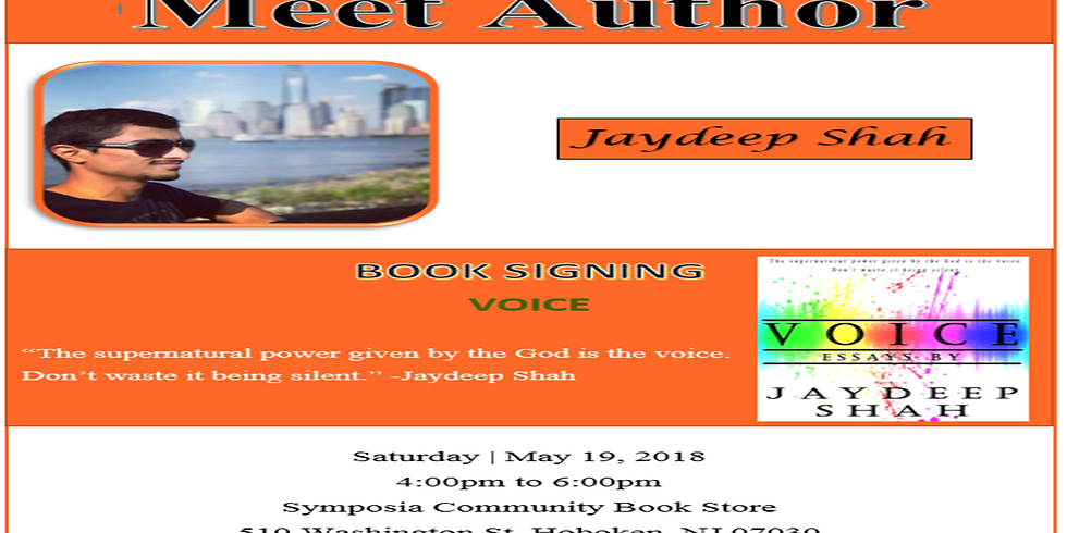 Voice (Book Signing Event)