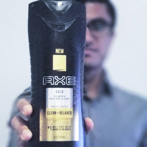 Axe Gold Body Wash [#YoureGold]