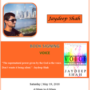 Voice: Essays by Jaydeep Shah [Book Signing Event]