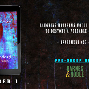 The Haunting Hours - Final Book in Horror Stories Series [Available for preorder on Barnes & Noble]