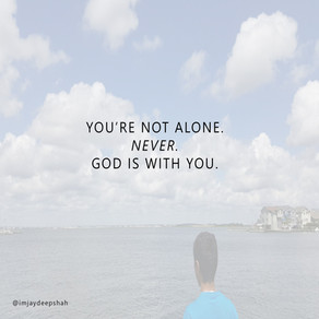 You're NOT Alone. 100/100.