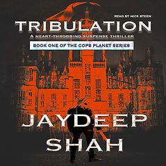 Tribulation - Book Cover Audiobook cover