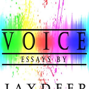 Voice: Essays by Jaydeep Shah [NOW AVAILABLE]