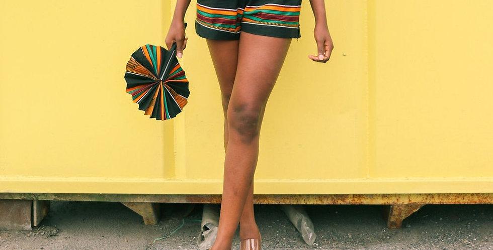 Ankara Shorts