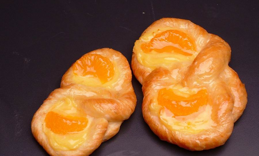 Orange Danish   เดนิช ส้ม