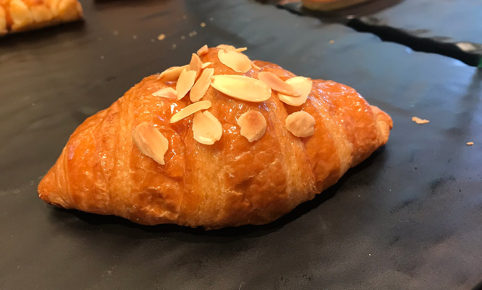 Almond Butter Croissant | ครัวซองต์ เนยอัลมอนล์