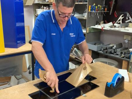 How We Custom-made Black Acrylic Boxes