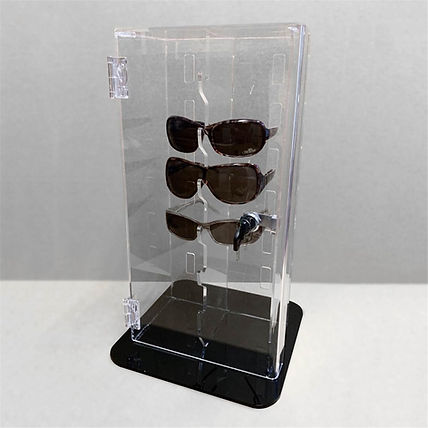 Lockable Sunglasses Display Case