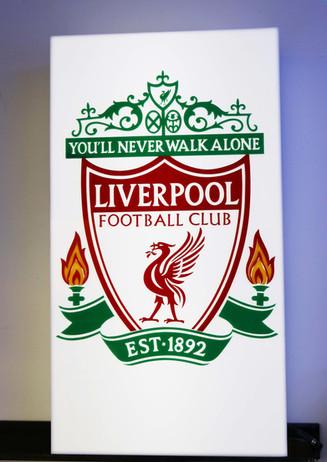 Laser Liverpool Sign