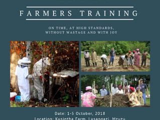 First Foundations for Farming Training at Mzuzu!