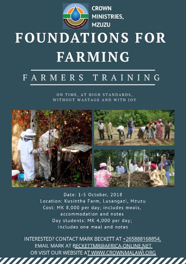 Foundations for Farming Training