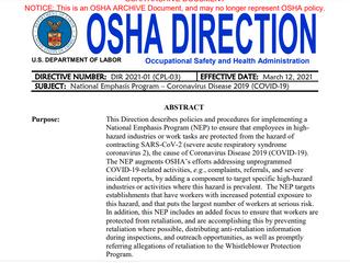 National Emphasis Program!!