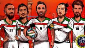 """London Chapter Supporting """"Team Melli"""""""