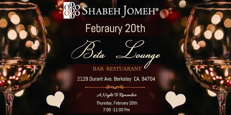 Shabeh Jomeh Bay Area February Special