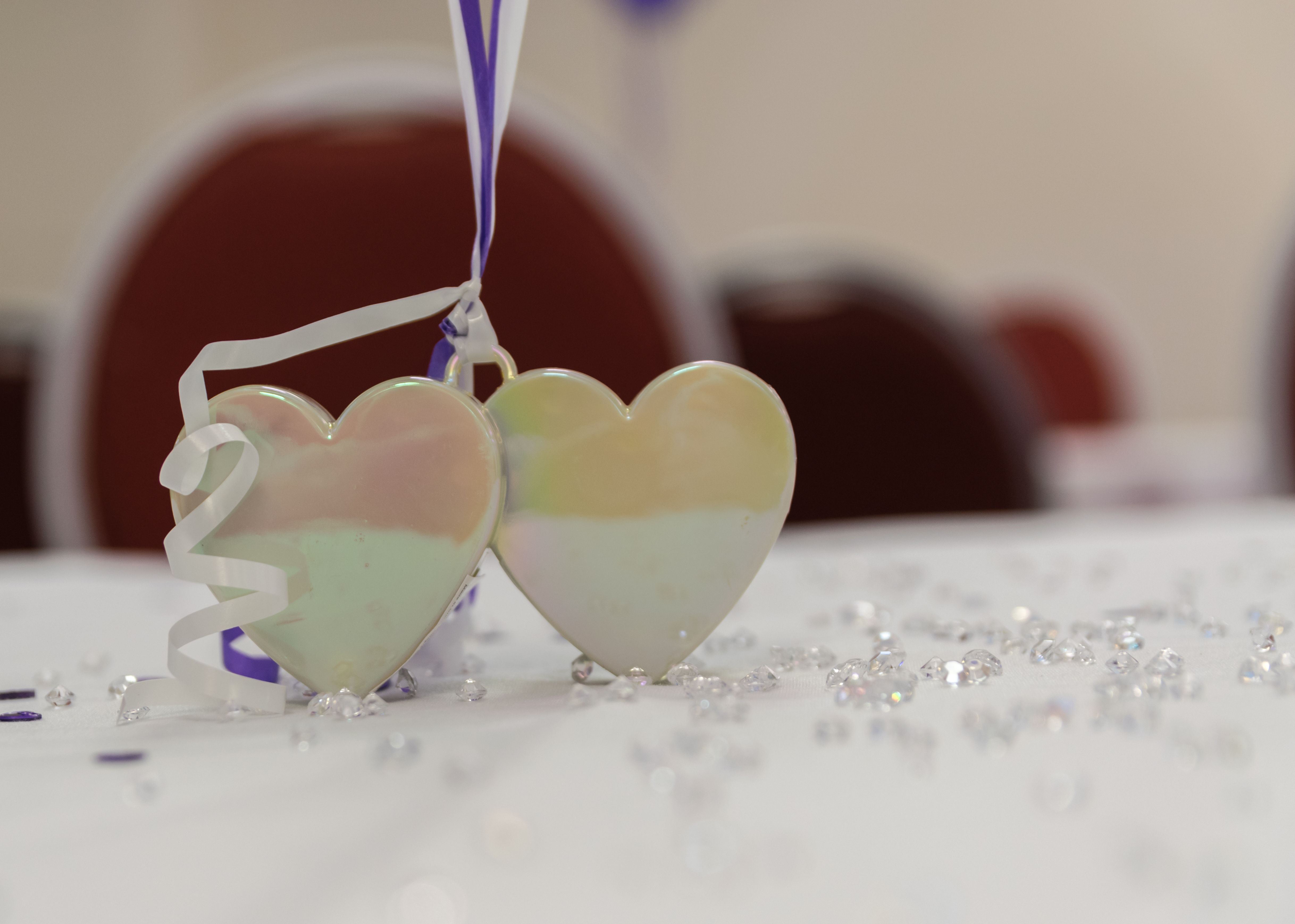 Table hearts