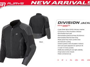 RJAYS Division: Brand New for 2021!