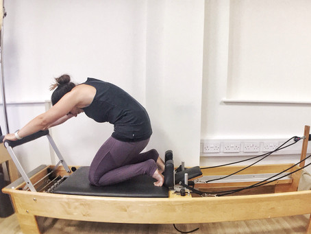 Reformer Exercise - Knee Stretches