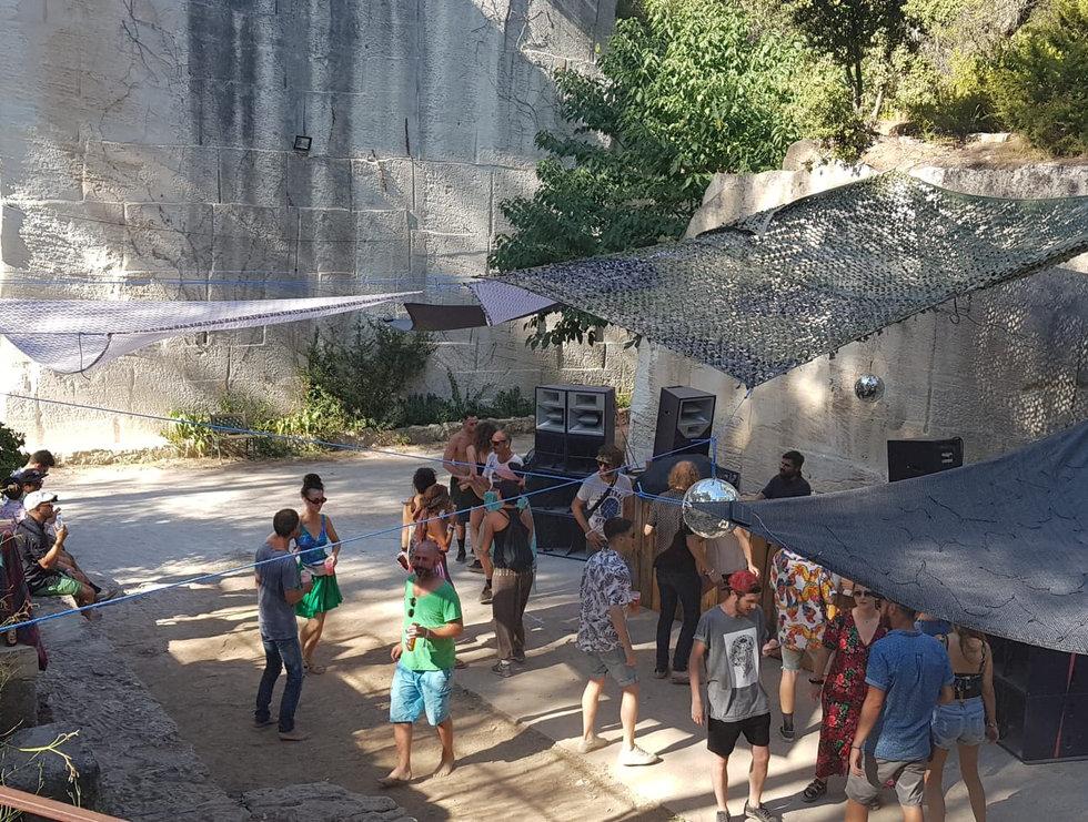 @Secret Pit, Baux de Provence, France