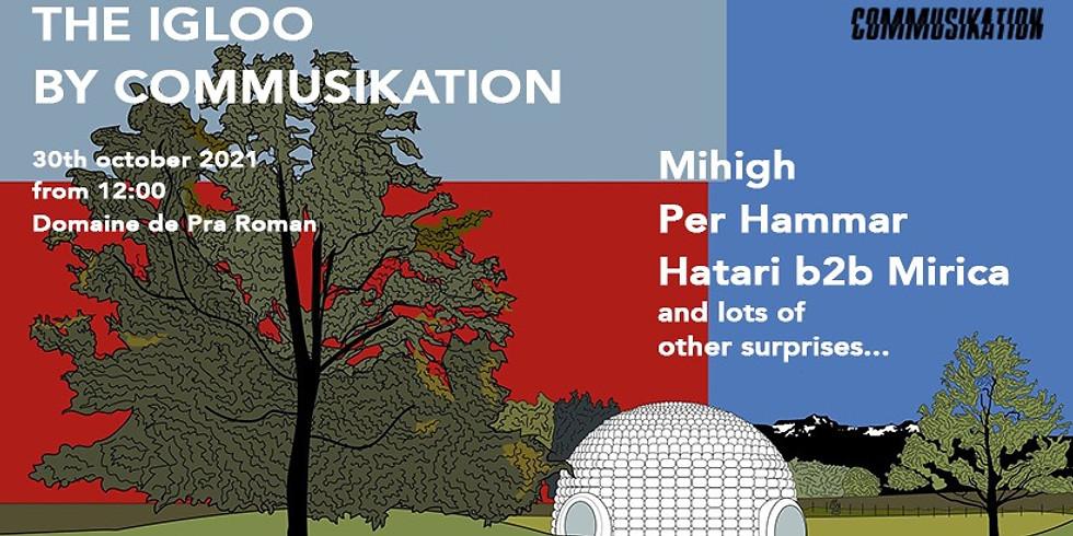 HATARI b2b Radu Mirica @ THE IGLOO by Commusikation
