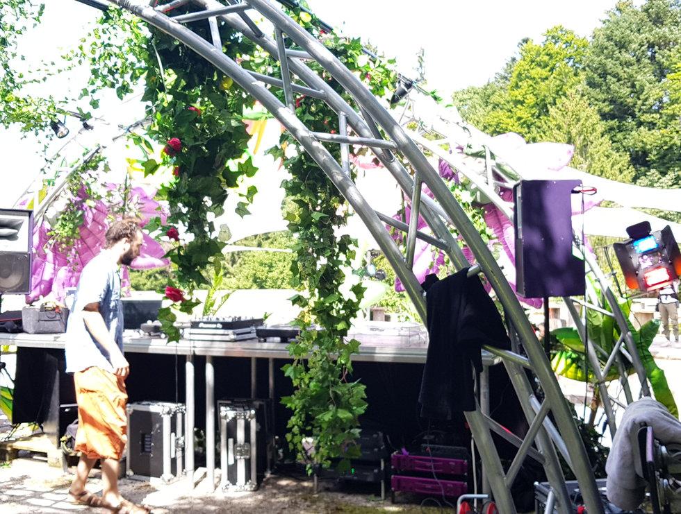 Eclosion Festival 2021 Main Stage, Pra Roman, Lausanne