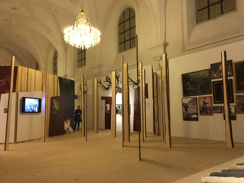 Sonderausstellung Jagdgründe, Deutsches Jagd- und Fischereimuseum, München