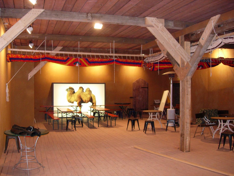 Landesausstellung Die Wüste, Lokschuppen Rosenheim