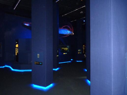 Tiefsee Ausstellung, Lokschuppen Rosenheim