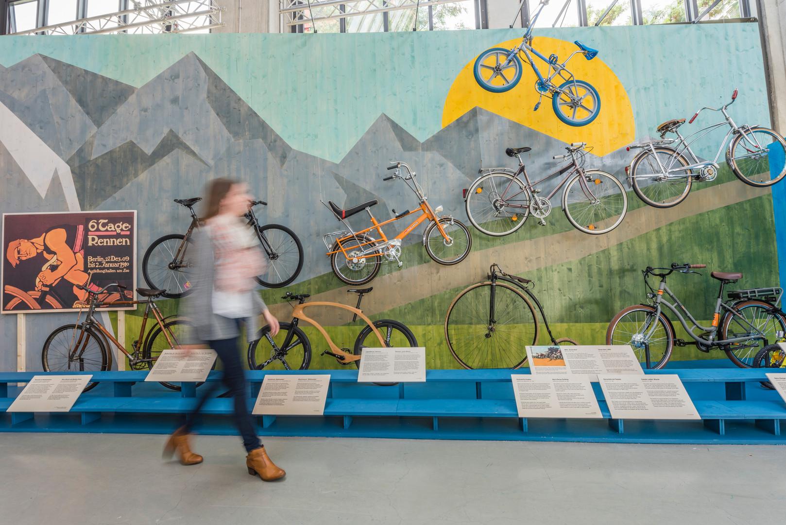 Sonderausstellung Balanceakte, Verkehrszentrum Deutsches Museum