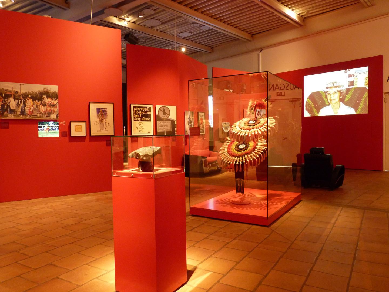 Indianer Ausstellung, Lokschuppen Rosenheim